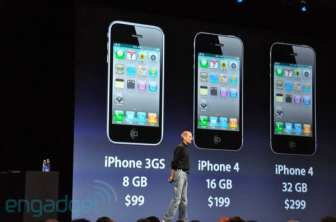 IPhone 4 Costs The