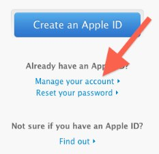 how to get my itunes password back