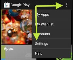 how to change location settings on google play