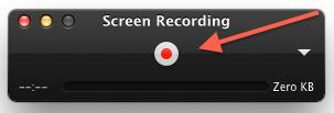 how to end a recording on quicktime player