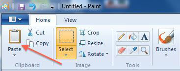 How To Do Picture Over Picture Inxp Paint