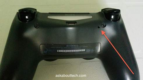 How To Reset A Ps4 Controller