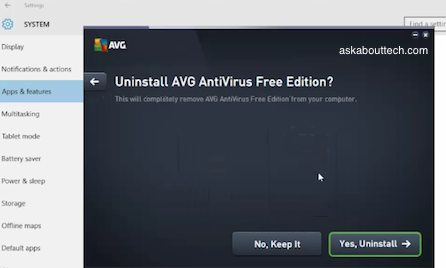 how to uninstall norton free trial
